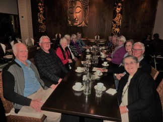 Sherwood Probus club members at Siam Sunset restaurant